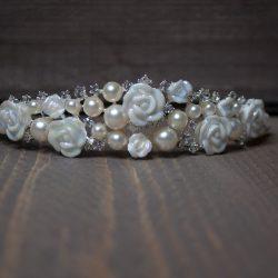 Mini tiara roos