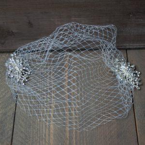 Birdcage met kristal clip