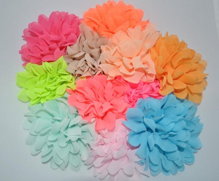 Chiffon bloem