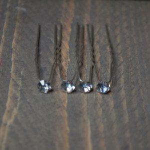 Steekspeld kristal rond