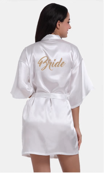 Satijnen Kimono